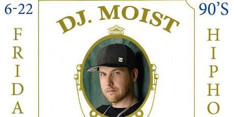 DJ MOIST @ RBAR KTOWN tickets