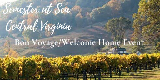 Semester at Sea - Central Virginia Alumni Chapter Welcome Home/Bon Voyage Event