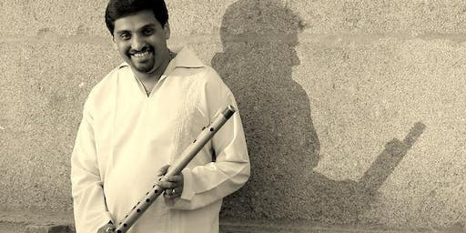Flutist Ravi Kulur and Spilling Ink: Ragas in Sound and Movement