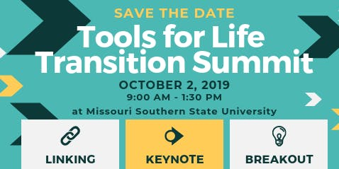 Tools for Life Transition Summit 2019 hosted by the Joplin Regional Transition Network