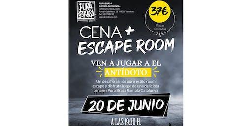 Escape room + cena