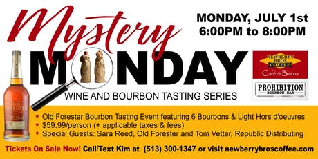 "Old Forester ""Mystery Monday"" Bourbon Tasting tickets"