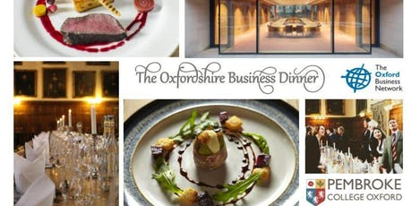 The Oxfordshire Business Dinner 2019 tickets