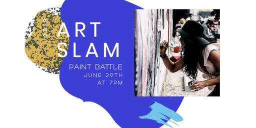 Art Slam- Round 1: Fundraiser benefiting the Kettle Society