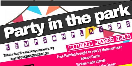 Bromyard Party In The Park tickets