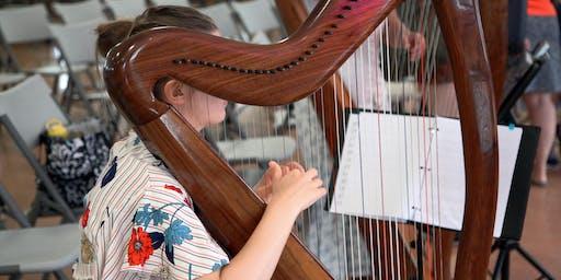 Glengarry Highland Games - Harp Workshop 2019