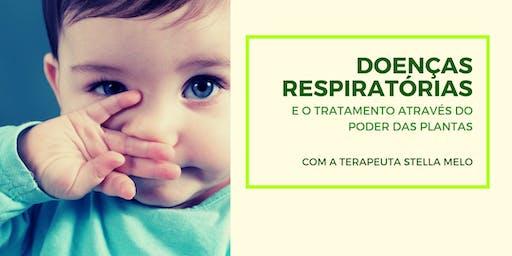 Doenças Respiratórias: o tratamento através do poder das plantas.