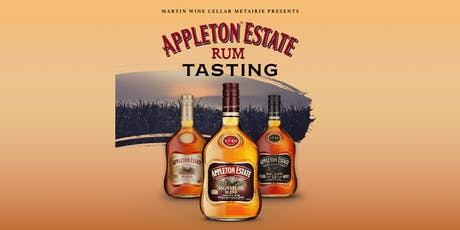 Appleton Estate Rum Tasting tickets