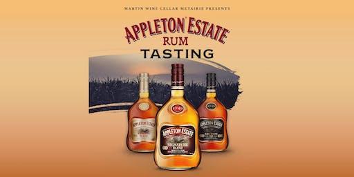 Appleton Estate Rum Tasting