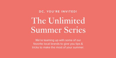 Unlimited Summer Event Series tickets