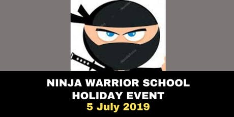 NINJA WARRIOR DAY CAMP - Kids Educational Action Packed Event in Burleigh tickets