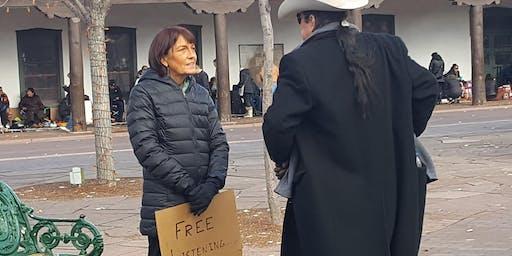 Solstice on Santa Fe Plaza : Free Listening and Meditation