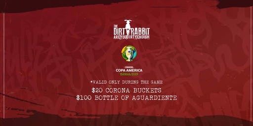 Colombia vs. Qatar - Copa America at The Dirty Rabbit