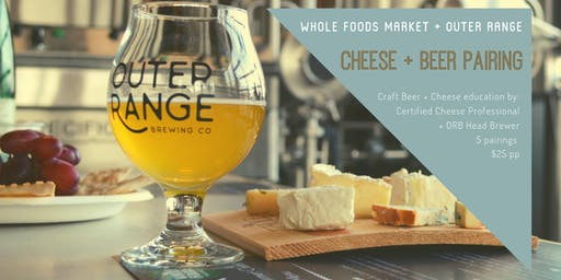 Whole Foods Market Cheese + Beer Pairing