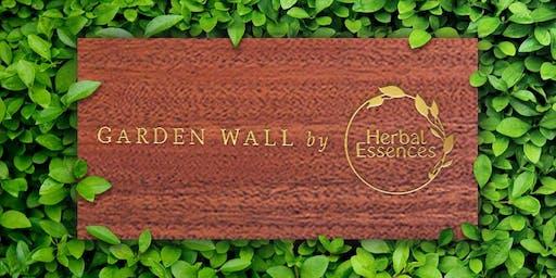 Herbal Essences Garden Wall
