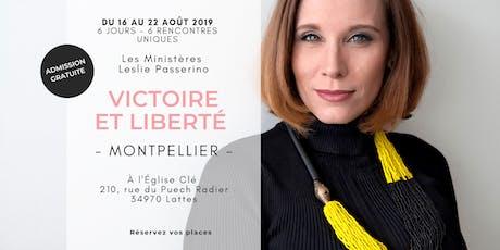 Victoire et Liberté - MONTPELLIER billets