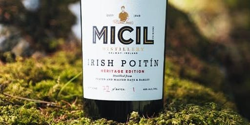 Micil Gin and Poitín Tasting