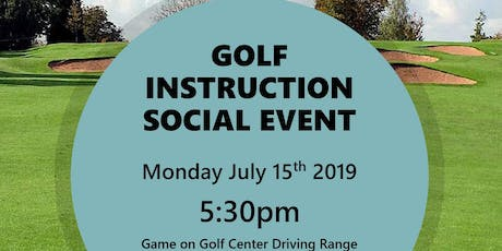 Golf Instruction Social Event tickets
