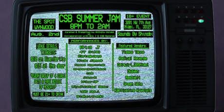 CSB SUMMER JAM tickets
