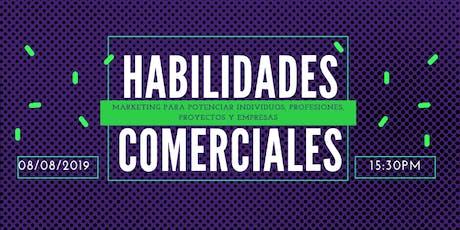 DESARROLLO DE HABILIDADES COMERCIALES entradas
