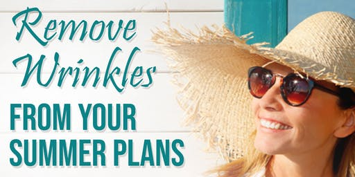 Give Your Wrinkles the Summer Off!