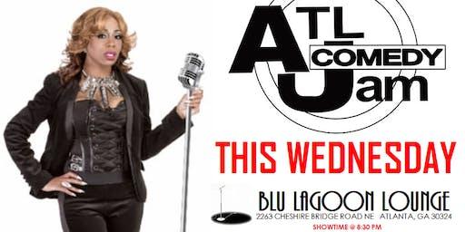 Blu Lagoon Lounge presents ATL Comedy Jam