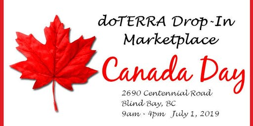 Canada Day with DoTERRA Essential Oils