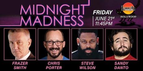 Chris Porter, Steve WIlson, and Sandy Danto - Midnight Madness! tickets