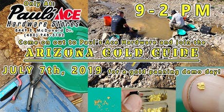 Gold Panning Demo Day @ Paul's Ace Hardware on McDonald! tickets