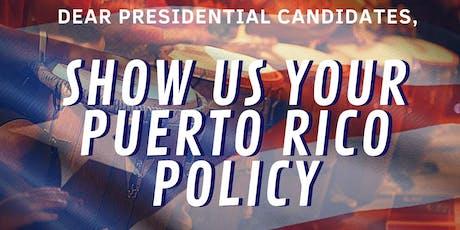 Puerto Ricans Demand Action Bombazo tickets