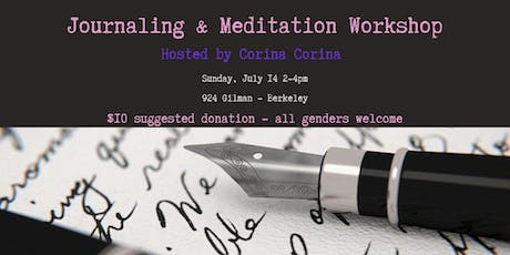 A JOURNALING & MEDITATION WORKSHOP FOR BALANCE & BOUNDARY SETTING at 924 Gilman tickets
