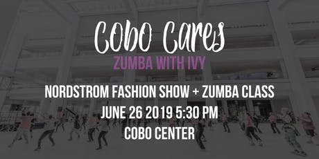 Cobo Cares - Centered Around you Series: Zumba with Ivy Mitchell  tickets