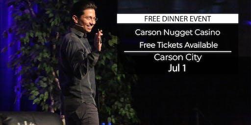 (FREE) Millionaire Success Habits revealed in Carson City by Dean Graziosi