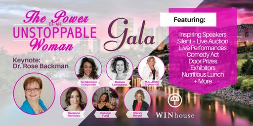 The Power of an Unstoppable Woman - Fundraising Gala - WIN House