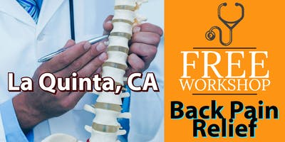 Free Back Pain Relief Brunch Workshop - La Quinta, CA