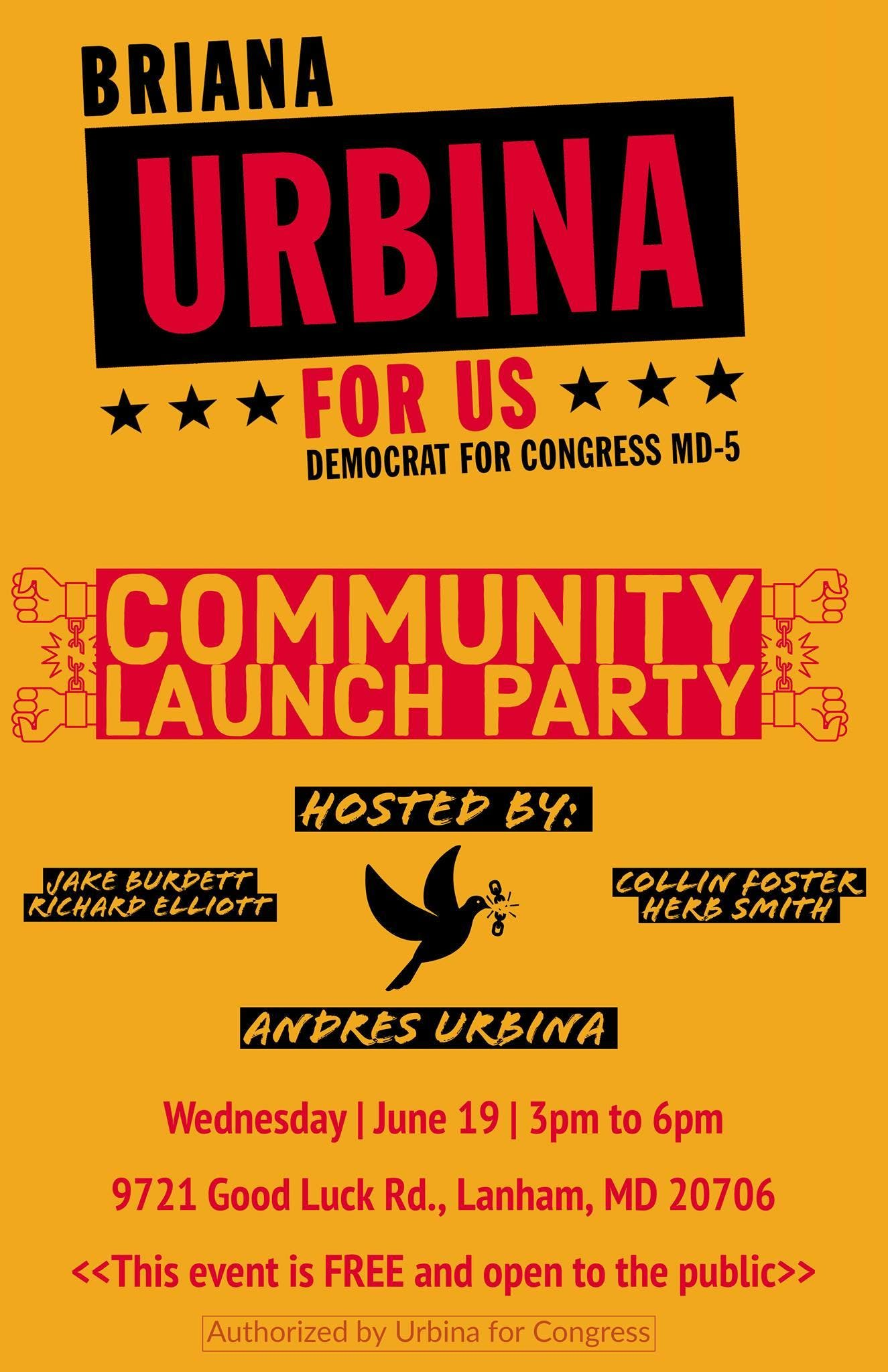 Community Launch Party