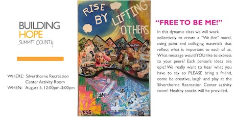 Youth Expressive Arts Program: Free to be Me tickets