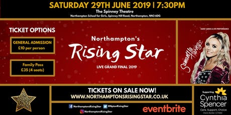 Northampton's Rising Star 2019 - Grand Final tickets