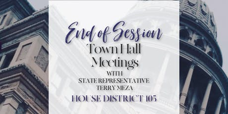End of Session Town Hall | Irving tickets