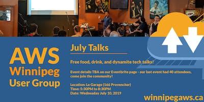 Winnipeg AWS User Group July Meetup