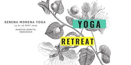 Serena Morena Yoga Retreat entradas
