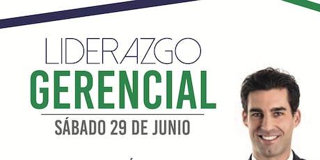 LIDERAZGO GERENCIAL tickets