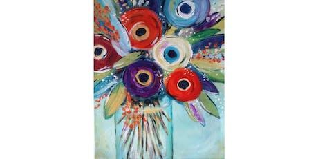 8/13 - Mason Jar Bouquet @ Hidden Vine Bistro, Marysville tickets
