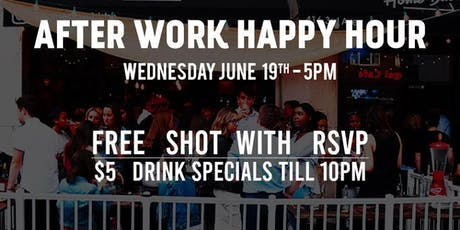Intern Afterwork Happy Hour at Home Base 6/19 tickets