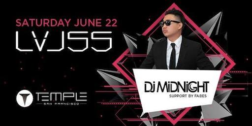 DMP DJ Midnight @ Temple Nightclub LVL 55 - 06/22/19