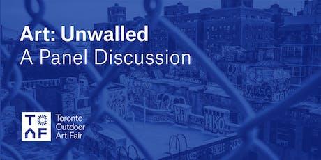 Art Talk - Art: Unwalled tickets