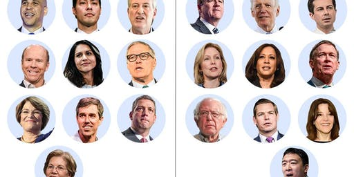 First 2020 Democratic Primary Debates (Day 1) Watch Party
