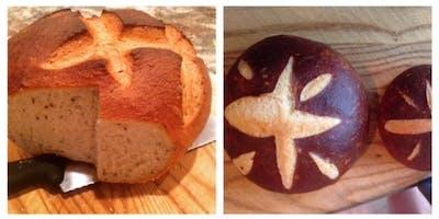 ***** Baking Series - Rye Bread & Pretzel Bread with Bill the Baker