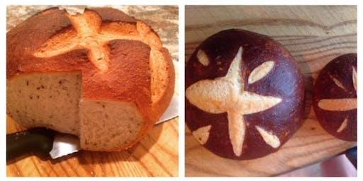 Adult Baking Series - Rye Bread & Pretzel Bread with Bill the Baker