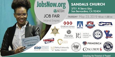 San Gabriel Valley Job Fair tickets